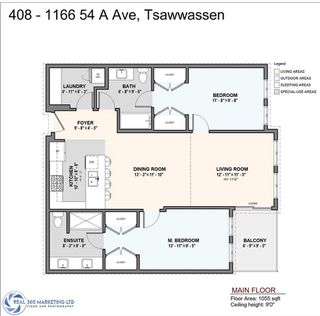 Photo 2: 408 1166 54A Street in Delta: Tsawwassen Central Condo for sale (Tsawwassen)  : MLS®# R2506393