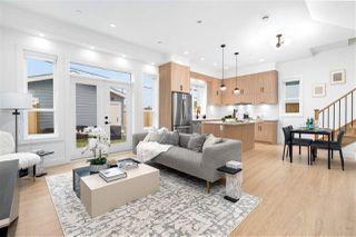 Photo 1: 3093 E 1ST Avenue in Vancouver: Renfrew VE 1/2 Duplex for sale (Vancouver East)  : MLS®# R2518507