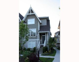 "Photo 1: 89 7288 HEATHER Street in Richmond: McLennan North Townhouse for sale in ""BARRINGTON WALK"" : MLS®# V650209"