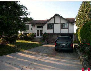"Photo 1: 12853 74TH Avenue in Surrey: West Newton House for sale in ""West Newton"" : MLS®# F2721498"