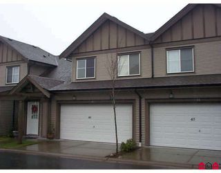 """Photo 1: 46 15868 85TH Avenue in Surrey: Fleetwood Tynehead Townhouse for sale in """"CHESTNUT GROVE"""" : MLS®# F2803206"""