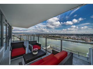"Photo 19: 3201 908 QUAYSIDE Drive in New Westminster: Quay Condo for sale in ""RIVERSKY 1"" : MLS®# R2407738"