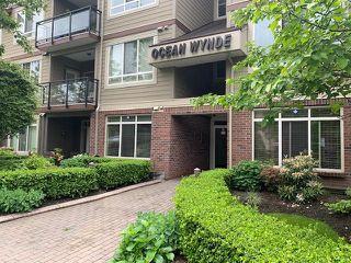 "Photo 1: 408 15368 17A Avenue in Surrey: King George Corridor Condo for sale in ""Ocean Wynde"" (South Surrey White Rock)  : MLS®# R2461064"