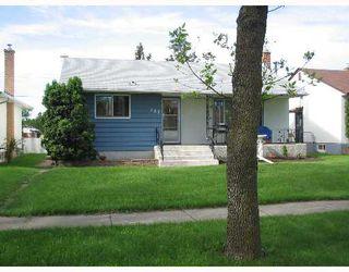 Photo 1: 708 MCADAM Avenue in WINNIPEG: West Kildonan / Garden City Single Family Detached for sale (North West Winnipeg)  : MLS®# 2711404