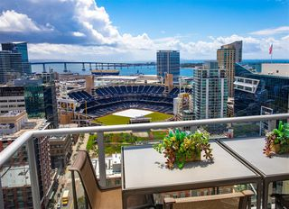 Photo 1: DOWNTOWN Condo for rent : 2 bedrooms : 800 The Mark Ln #2704 in San Diego