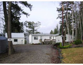 Main Photo: 3850 LOLOFF Crescent in Quesnel: Quesnel Rural - South Manufactured Home for sale (Quesnel (Zone 28))  : MLS®# N182011