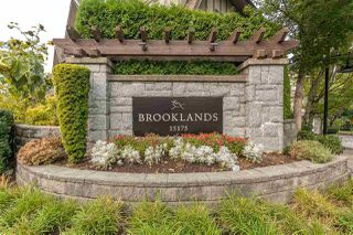 "Photo 1: 113 15175 62A Avenue in Surrey: Sullivan Station Townhouse for sale in ""BROOKLANDS"" : MLS®# R2500453"