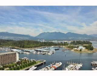 Photo 1: # 2201 590 NICOLA ST in Vancouver: Condo for sale : MLS®# V781511