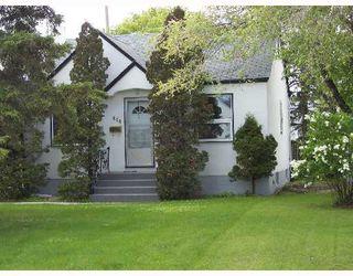 Photo 1: 414 AMHERST Street in WINNIPEG: St James Single Family Detached for sale (West Winnipeg)  : MLS®# 2709306