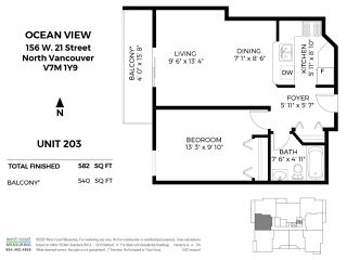 """Photo 14: 203 156 W 21ST Street in North Vancouver: Central Lonsdale Condo for sale in """"Ocean View"""" : MLS®# R2438704"""