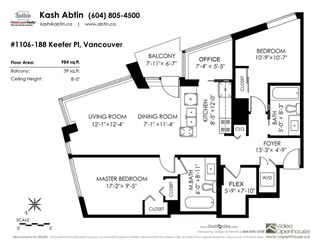 "Photo 40: 1106 188 KEEFER Place in Vancouver: Downtown VW Condo for sale in ""ESPANA"" (Vancouver West)  : MLS®# R2473891"