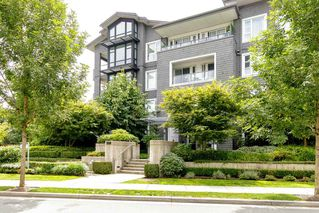 "Photo 1: 203 550 SEABORNE Place in Port Coquitlam: Riverwood Condo for sale in ""FREMONT GREEN"" : MLS®# R2479309"