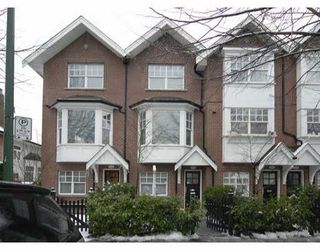 "Photo 1: 832 W 15TH Ave in Vancouver: Fairview VW Townhouse for sale in ""REDBRICKS"" (Vancouver West)  : MLS®# V626740"