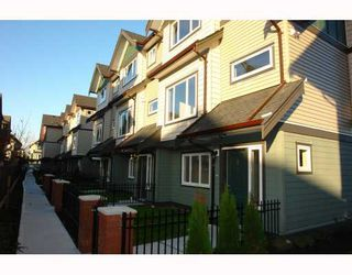 "Photo 2: 6 22386 SHARPE Avenue in Richmond: Hamilton RI Townhouse for sale in ""WESTMINSTER TERRACE"" : MLS®# V796335"