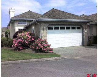 """Photo 1: 1 31450 SPUR Avenue in Abbotsford: Abbotsford West Townhouse for sale in """"Lake Point Villas"""" : MLS®# F2713126"""