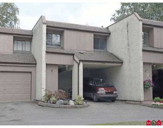 Photo 1: 135 3455 WRIGHT Street in Abbotsford: Matsqui Townhouse for sale : MLS®# F2720044