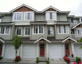 """Photo 1: 84 14877 58TH Avenue in Surrey: Sullivan Station Townhouse for sale in """"Redmill"""" : MLS®# F2815007"""