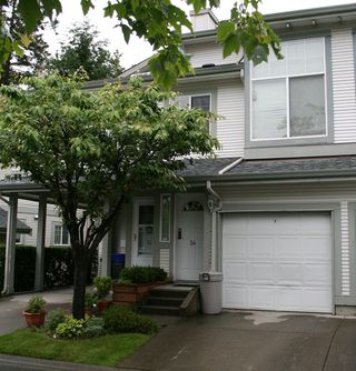 "Main Photo: 34 8892 208TH Street in Langley: Walnut Grove Townhouse for sale in ""Hunters Run"" : MLS®# F2817313"