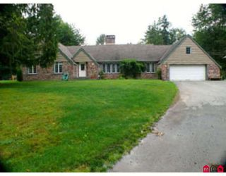 Photo 1: 6124 264TH Street in Langley: County Line Glen Valley House for sale : MLS®# F2901305