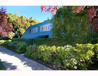 """Photo 2: 1960 CREELMAN Avenue in Vancouver: Kitsilano House 1/2 Duplex for sale in """"KITS POINT"""" (Vancouver West)  : MLS®# V667745"""