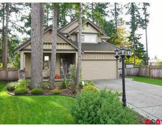 "Photo 1: 4413 208A Street in Langley: Brookswood Langley House for sale in ""Cedar Ridge"" : MLS®# F2727832"