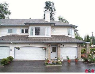"Photo 1: # 73 - 21579, 88B Avenue in Langley: Walnut Grove Townhouse for sale in ""Carriage Park"" : MLS®# F2518044"