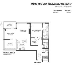 "Photo 21: 608 108 E 1ST Avenue in Vancouver: Mount Pleasant VE Condo for sale in ""Meccanica"" (Vancouver East)  : MLS®# R2475354"