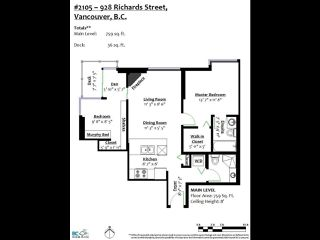 Photo 21: 2105 928 RICHARDS Street in Vancouver: Yaletown Condo for sale (Vancouver West)  : MLS®# R2515574