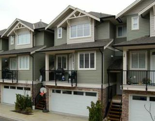"""Photo 1: 11720 COTTONWOOD Drive in Maple Ridge: Cottonwood MR Townhouse for sale in """"COTTONWOOD GREEN"""" : MLS®# V634707"""