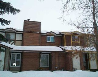 Photo 1: 1214 DIPLOMAT Drive in Winnipeg: West Kildonan / Garden City Townhouse for sale (North West Winnipeg)  : MLS®# 2702319