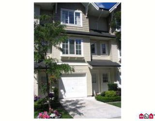 """Main Photo: #54 20560 66TH AV in Langley: Willoughby Heights Townhouse for sale in """"Amberleigh"""" : MLS®# F2615283"""