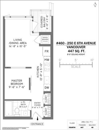 """Photo 17: 460 250 E 6TH Avenue in Vancouver: Mount Pleasant VE Condo for sale in """"DISTRICT"""" (Vancouver East)  : MLS®# R2443045"""