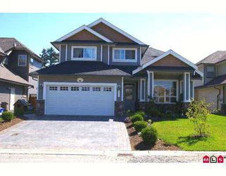 "Photo 1: 5398 CHINOOK Street in Sardis: Vedder S Watson-Promontory House for sale in ""WEBSTER LANDING"" : MLS®# H2703311"