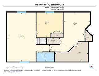Photo 30: 646 178A Street SW in Edmonton: Zone 56 House for sale : MLS®# E4165745