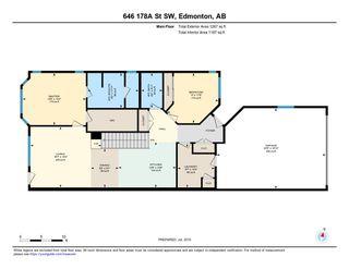 Photo 29: 646 178A Street SW in Edmonton: Zone 56 House for sale : MLS®# E4165745