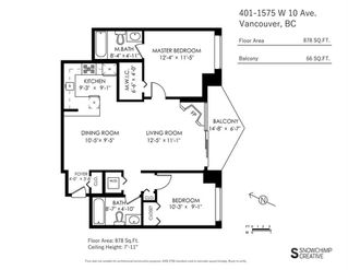 """Photo 20: 401 1575 W 10TH Avenue in Vancouver: Fairview VW Condo for sale in """"The Triton"""" (Vancouver West)  : MLS®# R2404375"""