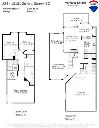 "Photo 18: 24 15151 26 Avenue in Surrey: Sunnyside Park Surrey Townhouse for sale in ""Westglen"" (South Surrey White Rock)  : MLS®# R2443256"