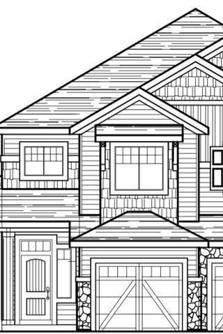 Photo 6: 4318 Cooke Lane in Edmonton: Zone 55 House Half Duplex for sale : MLS®# E4196748