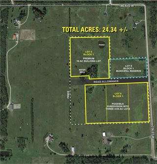 Photo 3: 256 Street W Near Priddis: Rural Foothills County Land for sale : MLS®# A1057790