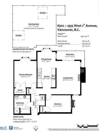 Photo 22: 302 1935 W 1ST Avenue in Vancouver: Kitsilano Condo for sale (Vancouver West)  : MLS®# R2528010