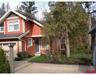 "Photo 1: 15255 36TH Ave in Surrey: Morgan Creek Townhouse for sale in ""Ferngrove"" (South Surrey White Rock)  : MLS®# F2704824"