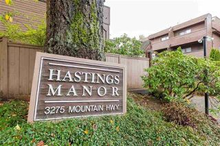 """Main Photo: 304 3275 MOUNTAIN Highway in North Vancouver: Lynn Valley Condo for sale in """"Hastings Manor"""" : MLS®# R2401449"""