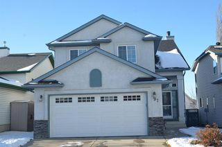 Photo 1: 97 Harvest Park Circle NE in Calgary: Harvest Hills Detached for sale : MLS®# A1049727