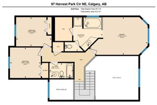 Photo 33: 97 Harvest Park Circle NE in Calgary: Harvest Hills Detached for sale : MLS®# A1049727