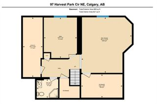 Photo 37: 97 Harvest Park Circle NE in Calgary: Harvest Hills Detached for sale : MLS®# A1049727