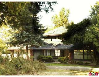 "Photo 1: 17481 28B Avenue in Surrey: Grandview Surrey House for sale in ""Country Woods"" (South Surrey White Rock)  : MLS®# F2720533"