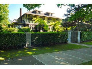Photo 1: 1699 LAURIER AV in Vancouver: Shaughnessy House for sale (Vancouver West)  : MLS®# V904755