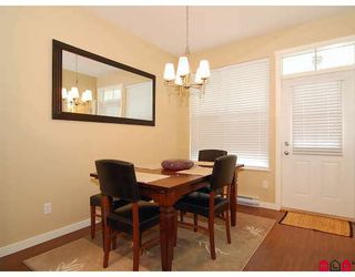"""Photo 9: 4 20460 66TH Avenue in Langley: Willoughby Heights Townhouse for sale in """"Willow Edge"""" : MLS®# F2808109"""