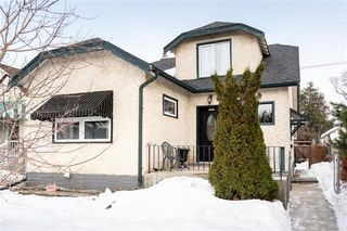 Photo 1: 793 Garfield Street in Winnipeg: Sargent Park Residential for sale (5C)  : MLS®# 202006282