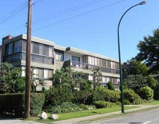 Photo 1: 203 2770 BURRARD Street in Vancouver: Fairview VW Condo for sale (Vancouver West)  : MLS®# V683859